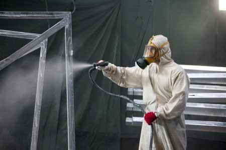 zinc-spraying